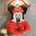 Girls Kids Baby Disney Minnie Mouse Fancy Tops + Tutu Dresses Outfit Set Costume