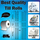 80mm x 80mm Thermal Paper Printer Receipt Till Rolls  - Free Delivery!!!