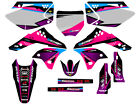 2006 2007 2008 KXF 250 GRAPHICS KIT KAWASAKI KX250F KX F 250F DECO DECALS MOTO
