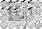 Commemorative UK 50p coins 50 pence - British Coin NHS WWF KEW OLYMPIC Circulted