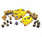Warhammer 40k army space marine Imperial fist models -many units to choose from