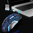Cordless 2.4GHz Wireless Optical Mouse Mice USB Receiver for Laptop PC Computer