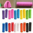 hand scooters - 1 Pair Motorcycle Scooter Bicycle Anti-Slip Soft Rubber Handlebar Hand Grips New