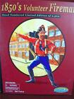 "1850 VOLUNTEER FIREMAN 12"" ACTION FIGURE GEARBOX 1/6 Model # 1987 NEW IN BOX"