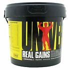 Real Gains weight gainer Universal Nutrition 3.8 lb whey expiration date 5/31/17