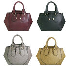 Women PU Leather Ostrich Hnadbag Tote Shoulder Bag Satchel Clearance Sale