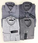 Tommy Hilfiger Men's Regular Fit Stretch Wrinkle Resistant Dress Shirt Variety
