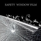Window Film Security and Safety Clear Clarity Absorbs Impact 2 Mil Wide 152cm US