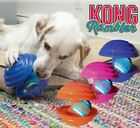 Kong Rambler - Interactive Dog Puppy Tough Rubber Squeaky Puzzle Toy With Ball