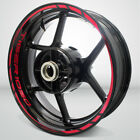 Motorcycle Rim Wheel Decal Accessory Sticker for Triumph Tiger 1050 $102.0 USD