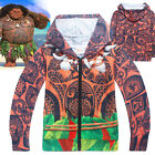 MOANA Maui boys clothing top hoodie thin jacket tracksuit outfit size 2-8 AU
