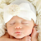 Cute Newborn Infant Bow Flower Soft Cap Toddler Girl&Boy Baby Hat Beanie Gifts
