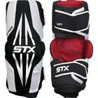 STX Clash Lacrosse Arm Pads Black Size Large 14+ Years Medium 9-13 Years NWT