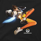 Overwatch Tracer Tee Shirt Womens Graphic Gaming T Shirt - Officially Licensed