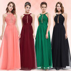 Womens Halter Bridesmaid Dresses Long Homecoming Prom Gown 08572 Ever-Pretty