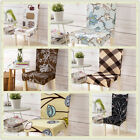 Dining Room Wedding Banquet Chair Cover Seat Decor Cover Stretch Spandex New