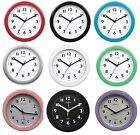 Champion Bold 9inch Kitchen Wall Clock (Many Colours) KC515