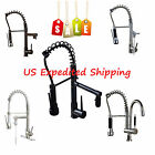 Deck Mounted Kitchen Faucet Chrome Brushed Nickel ORB Brass Faucets Mixer Tap