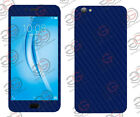 Vivo V5 Vivo V5s Exclusive Dark Blue Carbon Skin Front Back