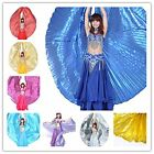 Dance Fairy Belly Dance 360 Degree Isis Wings with Portable Flexible Sticks New