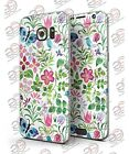 Samsung Galaxy S7/S7 Edge BUTTERFLIES AND FLOWERS WATERCOLOR PATTER Printed Skin