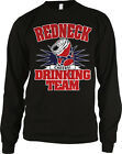 Redneck Drinking Team Cheers Alcohol Beer Health Toast Southern US Men's Thermal