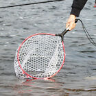 Fly Fishing Net Bass Trout Salmon Rubber Fish Catch Release Tackle Nets