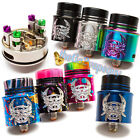 Authentic Devil Atty 24mm SS,Black,Rainbow,Splatter Included BF Pin FAST SHIP!!