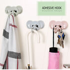 Solid Plastic Cute Elephant Shape Strong Adhesive Sticky Hook Wall Hanger