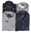 New Tommy Hilfiger Men's Short Sleeve Button Front Shirt Variety 100% Cotton