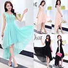 NEW Women Lady Formal Wedding Bridesmaid Long Evening Prom Gown Cocktail Dress