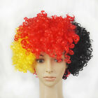 NEW Party Rainbow Afro Clown Hair Football Fan Adult Child Costume Curly Wig