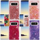 for Samsung Galaxy Note 8 - Hard TPU Rubber Floating Liquid Waterfall Case Cover