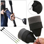 Hot 1~30PCS Black Sponge Foam Tipped Arrows For Larp Archery Battle Tagging Game