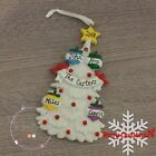 Personalised Family Christmas Xmas Decoration Tree Family 3, 4 or 5