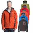 Trespass Strathy II Mens Softshell Jacket Breathable & Waterproof Coat With Hood