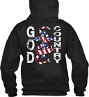 For God And Country - & Gildan Hoodie Sweatshirt