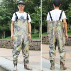 Fishing Waders Waterproof Boot-Foot Chest Men PVC Fishing Hunting Boots Wader