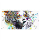 Home Bedroom Beauty Women Face Canvas Print Oil Painting Abstract Wall Art Decor
