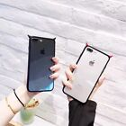 Cute Fashion Hard PC Clear Little Devil Love Couple Phone Case Cover For iPhone