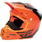 FLY RACING F2 CARBON PURE COLD WEATHER HELMET ORANGE/BLACK X-OUT FREE SHIPPING