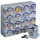 Really Useful 16 x 0.14L Organiser Box,Arts & Crafts,Personal Storage