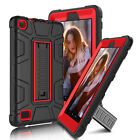 For Amazon Kindle Fire 7 2017 / 8 2018 Hybrid Tablet Shockproof Stand Case Cover