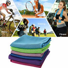 New Lce Cold Enduring Running Towel Jogging Gym Chilly Pad Instant Cooling Sport image