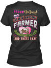 perfect girlfriend gift - Perfect Gift For A Farmers Girlfriend - Proud Of Gildan Women's Tee T-Shirt