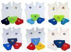 Boys Briefs and Vests Sets Postman Pat Cars Mickey Paw Patrol 3 Pants 2 vests