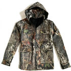 MENS 2 LAYER WATERPROOF COAT Gents hooded Oak tree camo heavy duty winter jacket