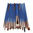 15 Pcs Cosmetic Makeup Brush Women Foundation Eyeshadow Eyeliner Lip Brand Make
