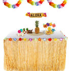 Luxury Tropical Hawaiian Natural Artificial Grass Table Skirt Party Decoration