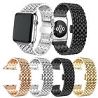 38/42mm Stainless Steel Band Bracelet Watchband L/S For Apple Watch iWatch 1 2
